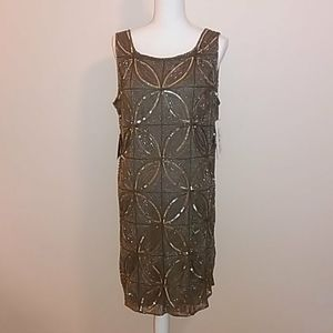 Prelude Beaded Dress Size 14 New With Tags